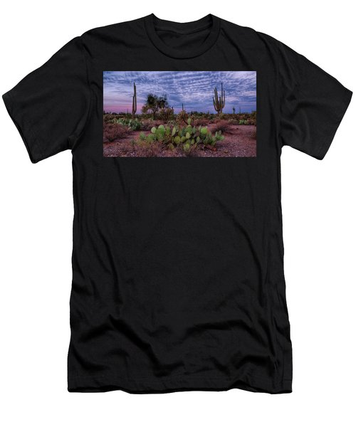 Morning Walk Along Peralta Trail Men's T-Shirt (Athletic Fit)