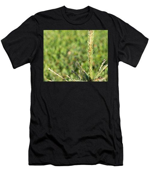 Morning Web #2 Men's T-Shirt (Athletic Fit)
