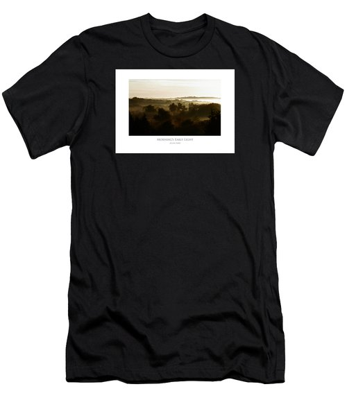 Men's T-Shirt (Athletic Fit) featuring the digital art Morning's Early Light by Julian Perry
