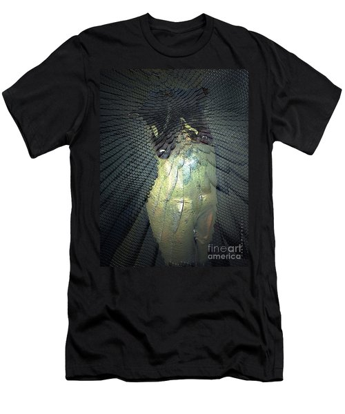 Men's T-Shirt (Slim Fit) featuring the photograph Morphing by Irma BACKELANT GALLERIES