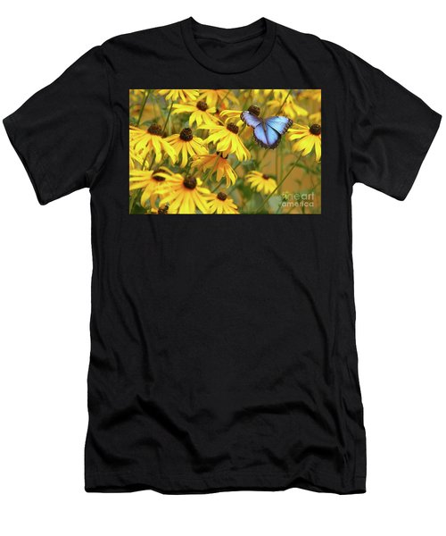 Morpho Butterfly Men's T-Shirt (Athletic Fit)