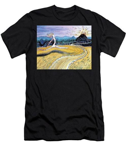 Morro Run Bliss Men's T-Shirt (Athletic Fit)