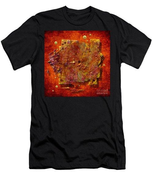 Mortar Disc Men's T-Shirt (Athletic Fit)