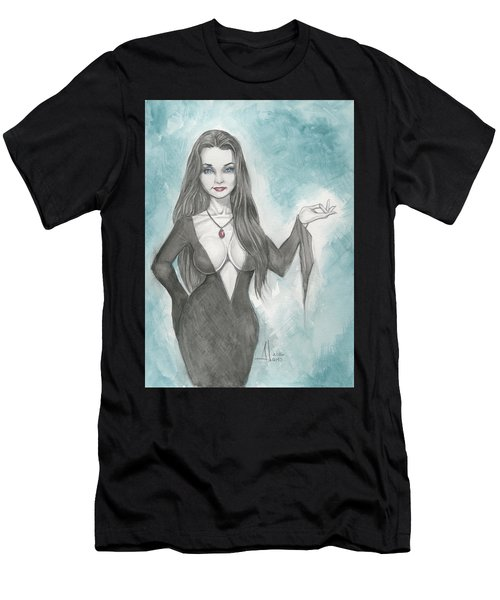 Morticia Addams Men's T-Shirt (Athletic Fit)