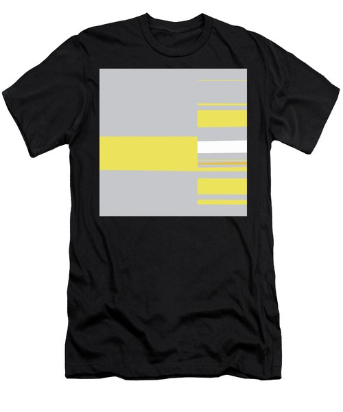 Mosaic Single 1 - Minimalist Abstract Men's T-Shirt (Athletic Fit)