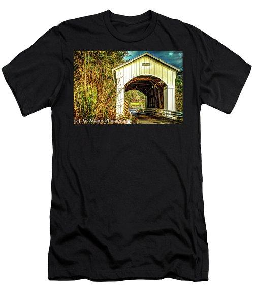 Mosby Creek Bridge Men's T-Shirt (Athletic Fit)
