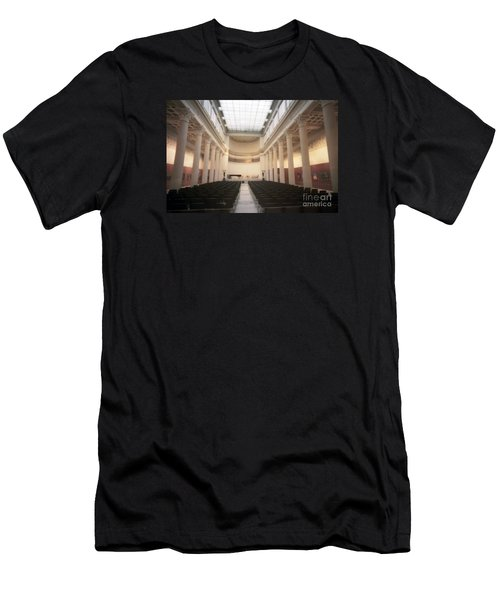 Moscow Consert Hall Men's T-Shirt (Slim Fit) by Ted Pollard