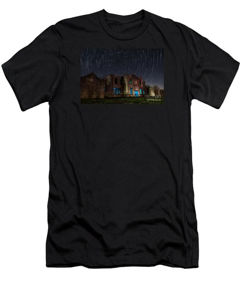 Mosheim Texas Schoolhouse Men's T-Shirt (Athletic Fit)