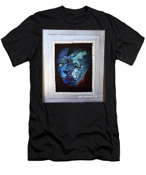 Mosiac Man Men's T-Shirt (Athletic Fit)
