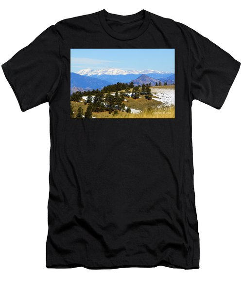 Mosquito Range Mountains Men's T-Shirt (Athletic Fit)