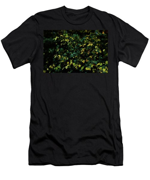 Men's T-Shirt (Athletic Fit) featuring the photograph Moss In Colors by Gene Garnace