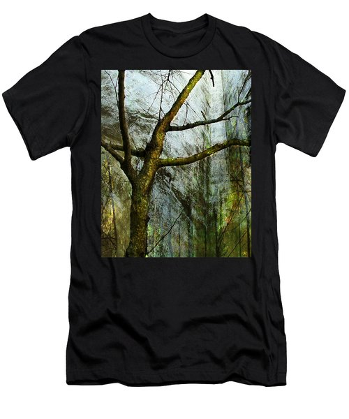 Moss On Tree Men's T-Shirt (Athletic Fit)