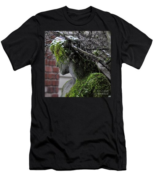 Mossy Bacchus Men's T-Shirt (Slim Fit) by Tanya Searcy