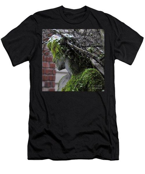 Mossy Bacchus Men's T-Shirt (Athletic Fit)