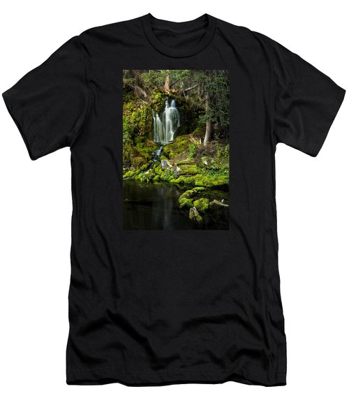 Mossy Falls Men's T-Shirt (Athletic Fit)