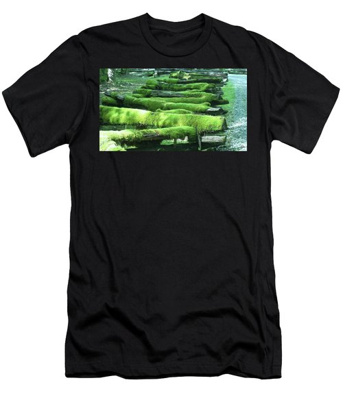 Mossy Fence Men's T-Shirt (Athletic Fit)