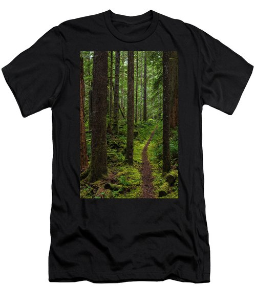North Souixon Creek Mossy Trail Men's T-Shirt (Athletic Fit)