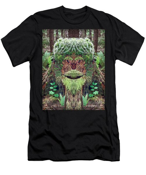 Mossman Tree Stump Men's T-Shirt (Athletic Fit)