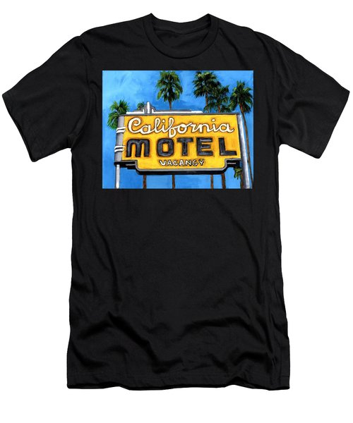 Motel California Men's T-Shirt (Athletic Fit)