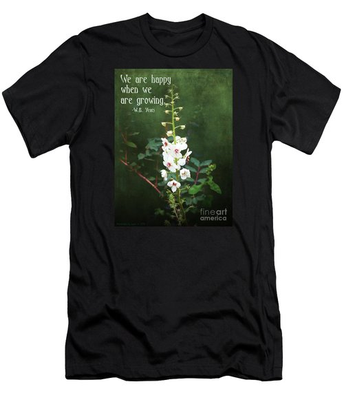 Moth Mullein Men's T-Shirt (Slim Fit) by Gena Weiser