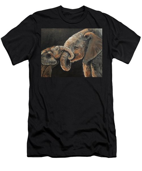 Mother And Baby Men's T-Shirt (Athletic Fit)