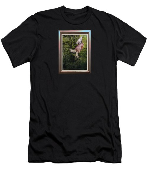 Mother And Daughter One Men's T-Shirt (Slim Fit) by Stan  Magnan