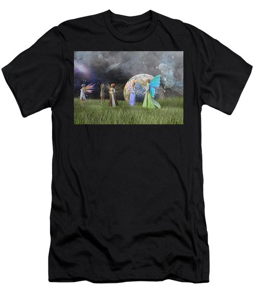 Mother Earth Series Plate1 Men's T-Shirt (Athletic Fit)