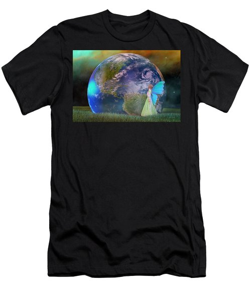 Mother Earth Series Plate3 Men's T-Shirt (Athletic Fit)