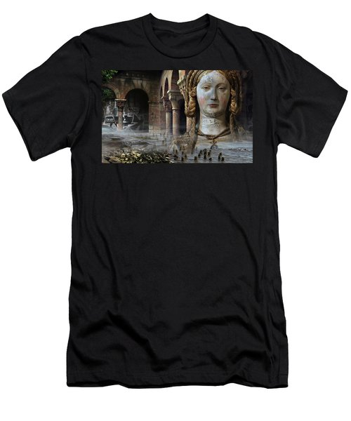 Mother Earth Men's T-Shirt (Slim Fit) by Yvonne Wright