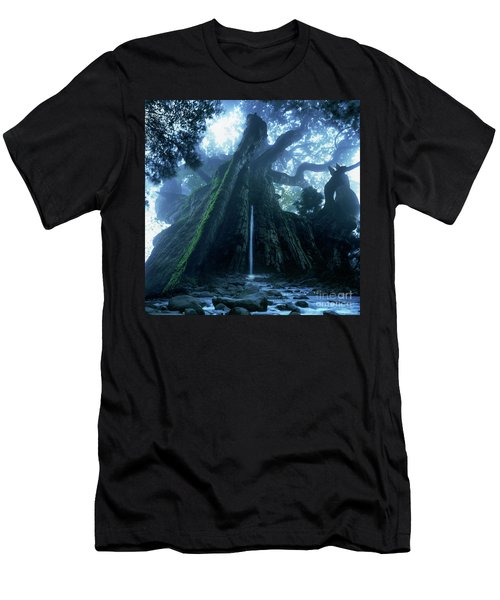 Mother Tree Men's T-Shirt (Slim Fit) by Tatsuya Atarashi