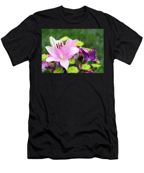 Mother's Day Bouquet  Men's T-Shirt (Athletic Fit)