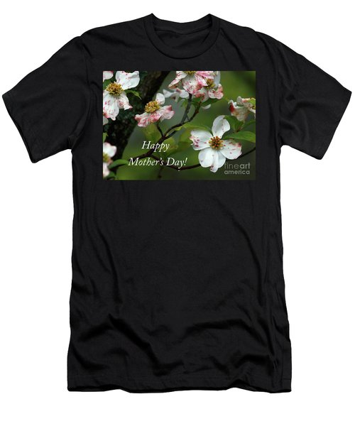 Men's T-Shirt (Slim Fit) featuring the photograph Mother's Day Dogwood by Douglas Stucky