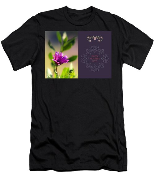 Mother's Day Flower Men's T-Shirt (Athletic Fit)