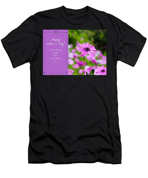 Mother's Day Love Men's T-Shirt (Athletic Fit)