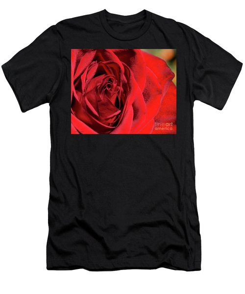 Mother's Day Rose Men's T-Shirt (Athletic Fit)