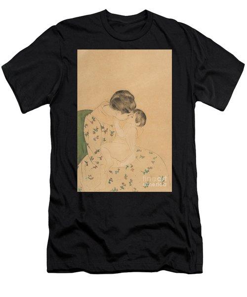 Mother's Kiss Men's T-Shirt (Athletic Fit)