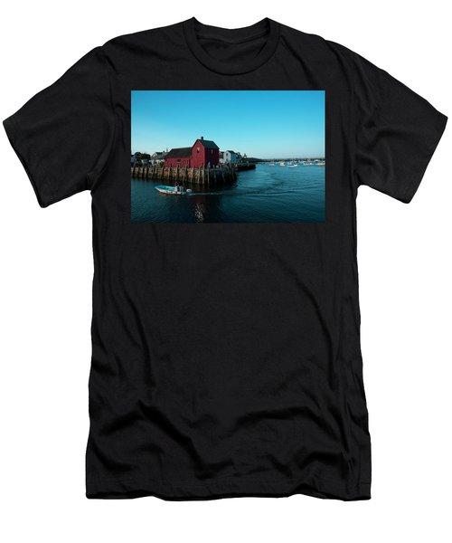 Motif Number 1 Closeup Men's T-Shirt (Athletic Fit)