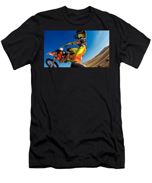 Motocross Men's T-Shirt (Athletic Fit)