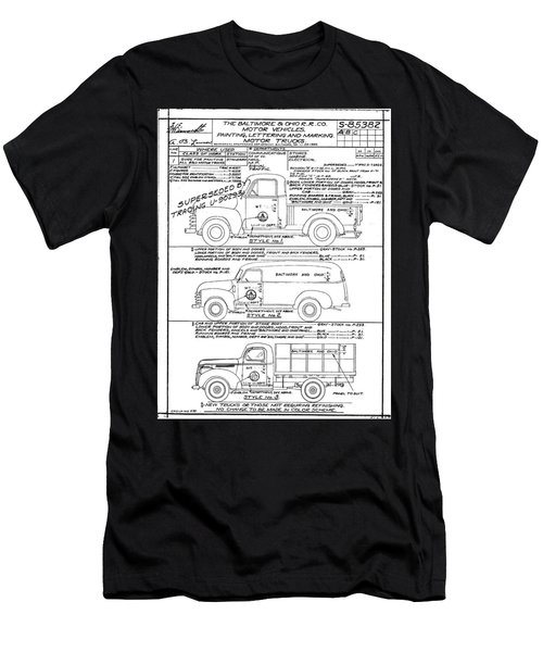 Motor Vehicles Men's T-Shirt (Athletic Fit)