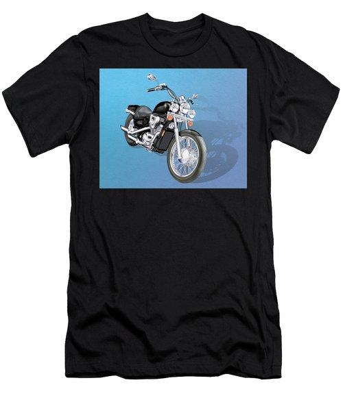 Motorcycle Men's T-Shirt (Athletic Fit)