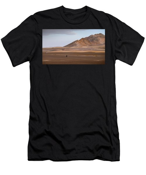 Motorcycles In Persian Desert Men's T-Shirt (Athletic Fit)