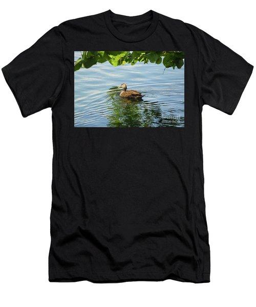 Mottled Ripples Men's T-Shirt (Athletic Fit)