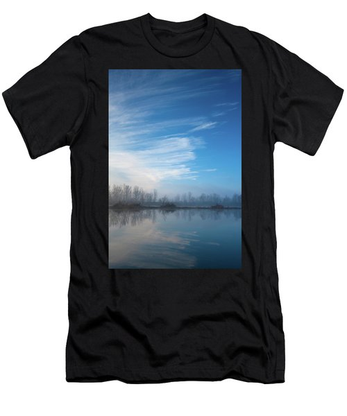 Men's T-Shirt (Athletic Fit) featuring the photograph Mottled Sky by Davor Zerjav