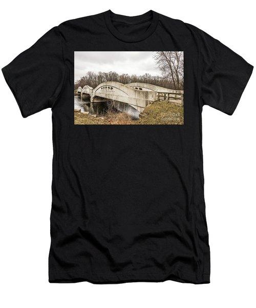 Mottville Bridge On Us 12 In Michigan Men's T-Shirt (Athletic Fit)