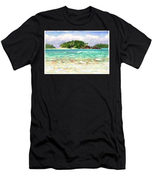 Motu Rakau, Aitutaki Men's T-Shirt (Athletic Fit)