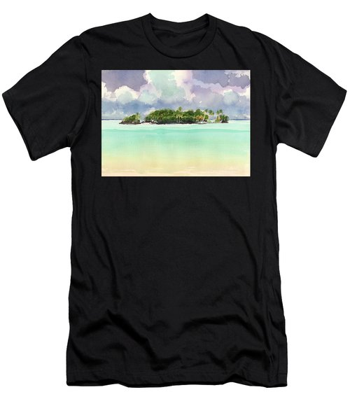Motu Rapota, Aitutaki, Cook Islands, South Pacific Men's T-Shirt (Athletic Fit)