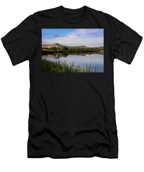 Mount Garfield In The Evening Light Men's T-Shirt (Athletic Fit)