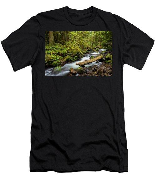 Mount Hood Creek Men's T-Shirt (Athletic Fit)
