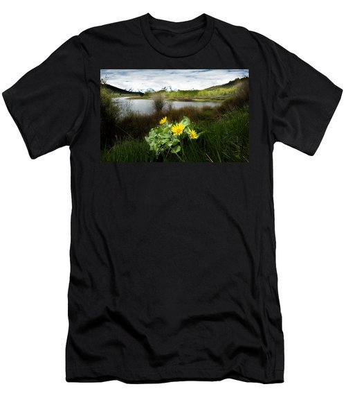 Mount Moran Spring Men's T-Shirt (Athletic Fit)