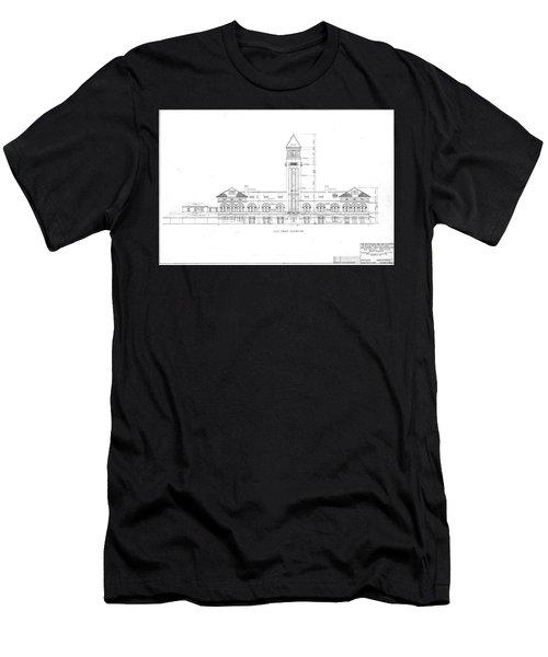Mount Royal Station Men's T-Shirt (Athletic Fit)